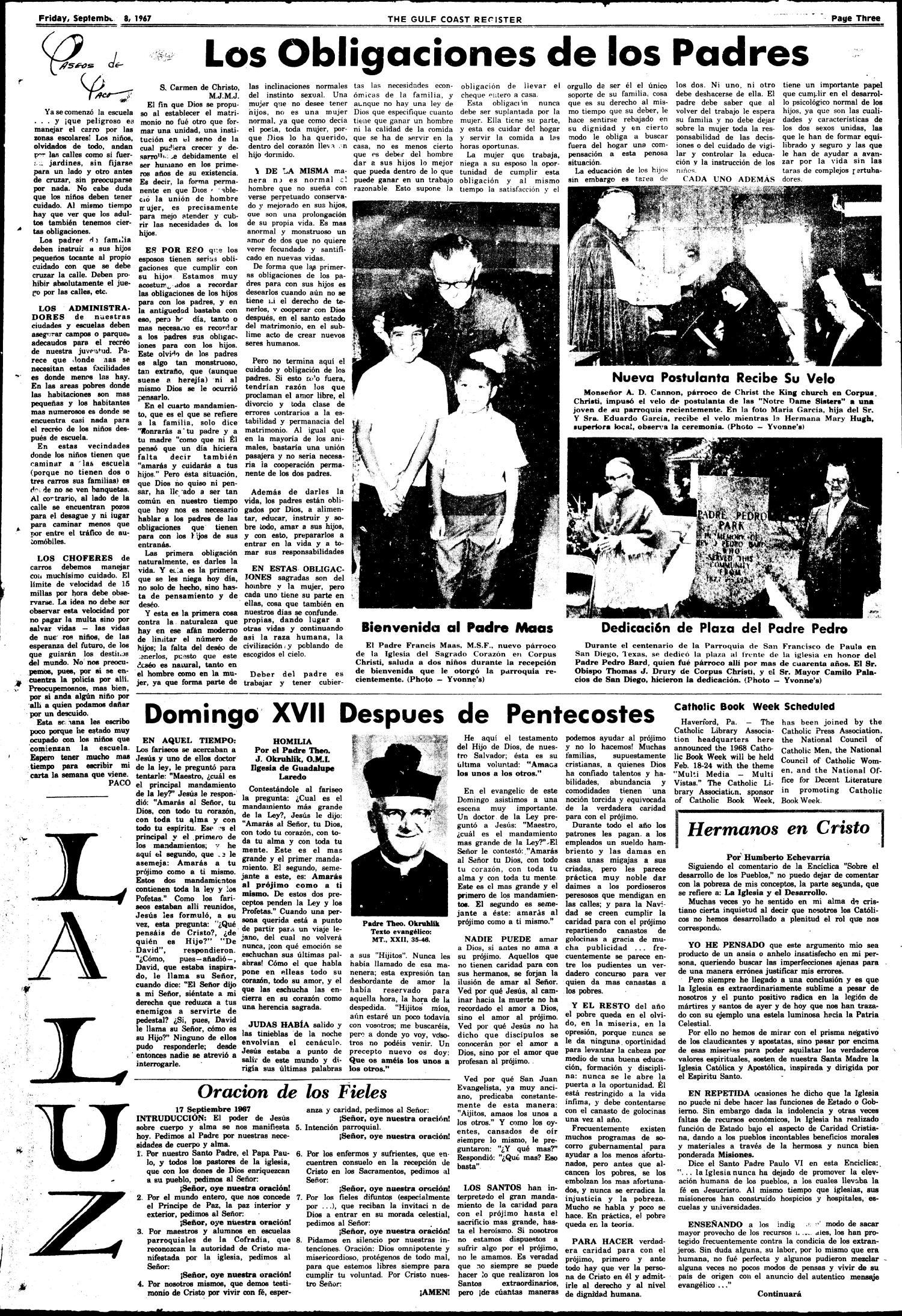 Texas Gulf Coast Register (Corpus Christi, Tex.), Vol. 2, No. 19, Ed ...