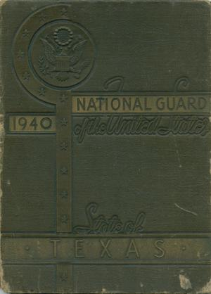 Primary view of object titled 'Historical and Pictorial Review: National Guard of the State of Texas, 1940'.