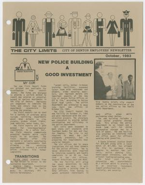 The City Limits, October 1983