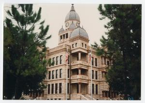 Primary view of object titled '[Courthouse-on-the-Square in Denton, Texas]'.