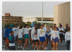 Primary view of object titled '[Group of runners at the City Fun Run]'.