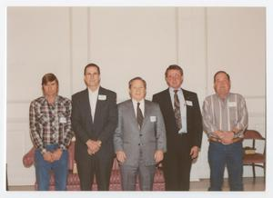 Primary view of object titled '[City of Denton employees at Service Awards]'.