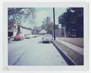 [Cars looking east on 3rd Street]