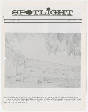 Primary view of object titled 'Spotlight, Volume 12, Number 11, November 1969'.