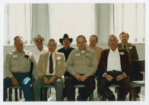 Primary view of object titled '[Employees at the City of Denton Service Awards]'.