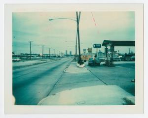 [Allison Shell service station on W. University Drive]