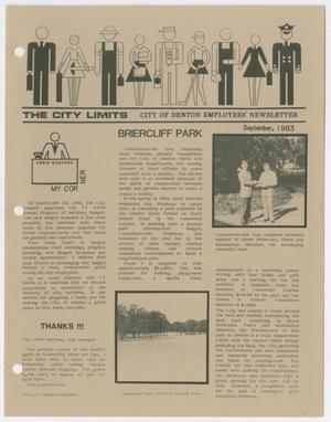 The City Limits, September 1983