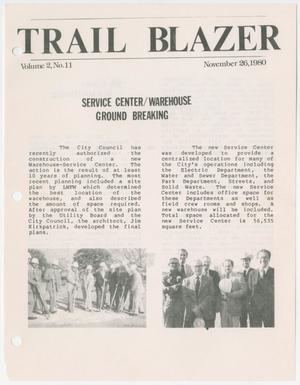 Primary view of object titled 'Trail Blazer, Volume 2, Number 11, November 26, 1980'.