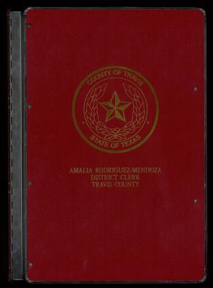 Travis County Naturalization Records: Naturalization Record 1890-1903