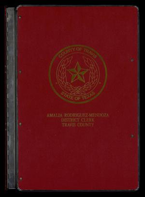 Travis County Naturalization Records: Naturalization Record 1903-1906