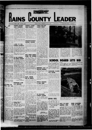 Primary view of object titled 'Rains County Leader (Emory, Tex.), Vol. 80, No. 48, Ed. 1 Thursday, May 16, 1968'.