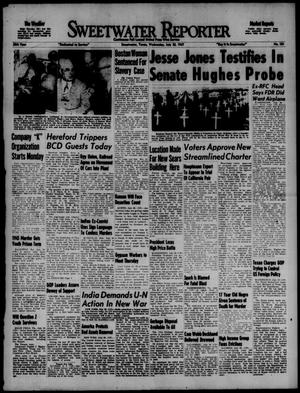Sweetwater Reporter (Sweetwater, Tex.), Vol. 50, No. 181, Ed. 1 Wednesday, July 30, 1947