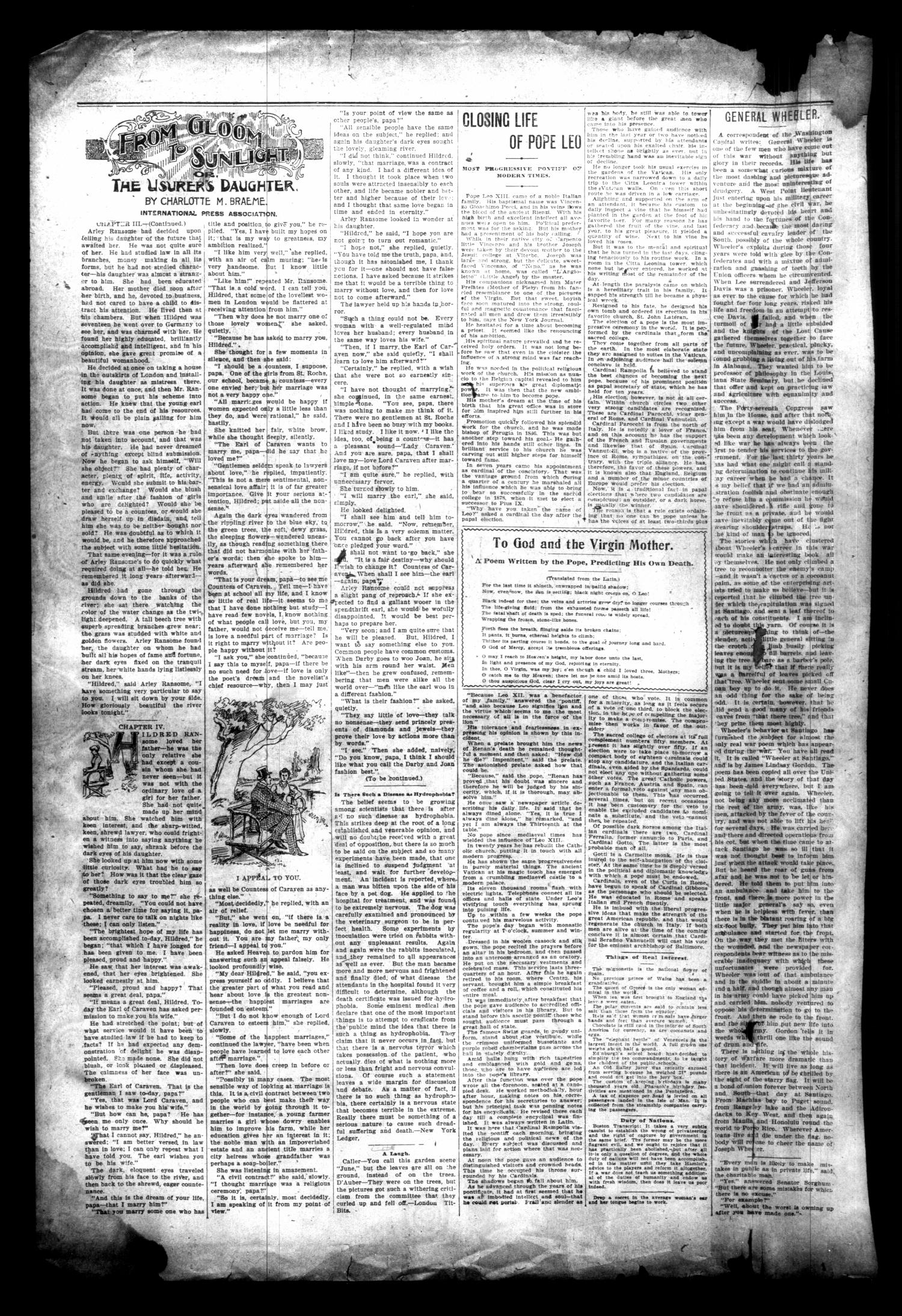The Cuero Daily Record. (Cuero, Tex.), Vol. 9, No. 61, Ed. 1 Wednesday, September 28, 1898                                                                                                      [Sequence #]: 2 of 8