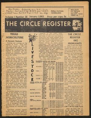 The Circle Register (Follett, Tex.), Vol. 1, No. 38, Ed. 1 Tuesday, January 1, 1963