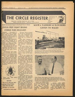 Primary view of object titled 'The Circle Register (Follett, Tex.), Vol. 2, No. 10, Ed. 1 Tuesday, June 18, 1963'.