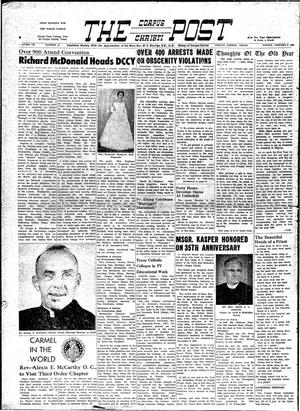 Primary view of object titled 'The Corpus Christi Post (Corpus Christi, Tex.), Vol. 7, No. 45, Ed. 1 Sunday, January 3, 1960'.