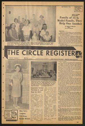 Primary view of object titled 'The Circle Register (Follett, Tex.), Vol. 1, No. 21, Ed. 1 Tuesday, September 4, 1962'.