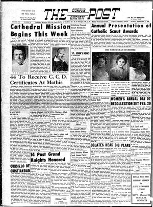 Primary view of object titled 'The Corpus Christi Post (Corpus Christi, Tex.), Vol. 7, No. 50, Ed. 1 Sunday, February 7, 1960'.