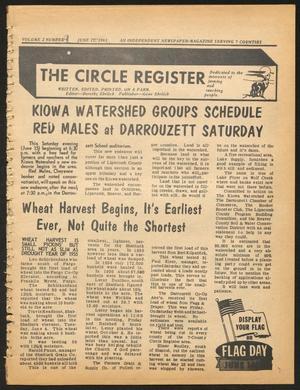 The Circle Register (Follett, Tex.), Vol. 2, No. 9, Ed. 1 Tuesday, June 11, 1963