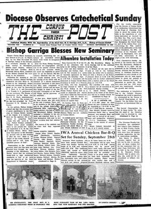 Primary view of object titled 'The Corpus Christi Post (Corpus Christi, Tex.), Vol. 8, No. 30, Ed. 1 Sunday, September 18, 1960'.