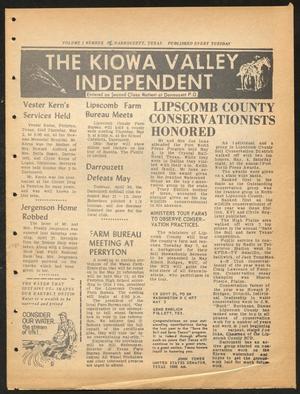 The Kiowa Valley Independent (Darrouzett, Tex.), Vol. 1, No. 32, Ed. 1 Tuesday, May 7, 1963