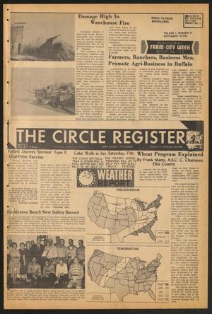 The Circle Register (Follett, Tex.), Vol. 1, No. 31, Ed. 1 Tuesday, November 13, 1962