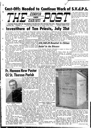 Primary view of object titled 'The Corpus Christi Post (Corpus Christi, Tex.), Vol. 8, No. 21, Ed. 1 Sunday, July 17, 1960'.