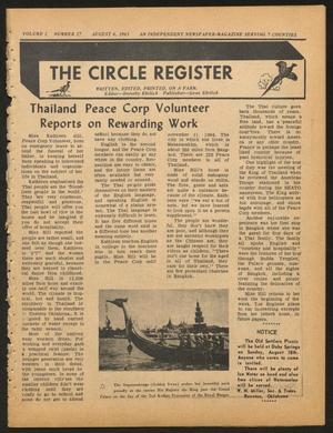 The Circle Register (Follett, Tex.), Vol. 2, No. 17, Ed. 1 Tuesday, August 6, 1963