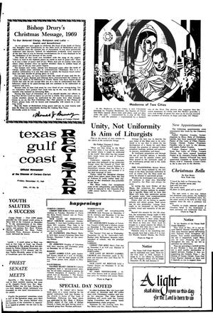 Primary view of object titled 'Texas Gulf Coast Register (Corpus Christi, Tex.), Vol. 4, No. 36, Ed. 1 Friday, December 19, 1969'.