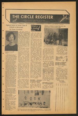 The Circle Register (Follett, Tex.), Vol. 2, No. 36, Ed. 1 Tuesday, December 17, 1963