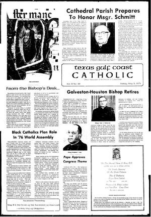 Primary view of object titled 'Texas Gulf Coast Catholic (Corpus Christi, Tex.), Vol. 9, No. 49, Ed. 1 Friday, May 2, 1975'.