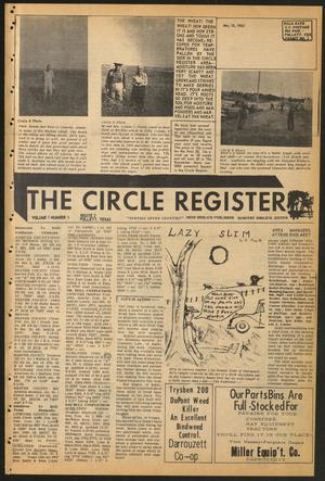 Primary view of object titled 'The Circle Register (Follett, Tex.), Vol. 1, No. 5, Ed. 1 Tuesday, May 15, 1962'.