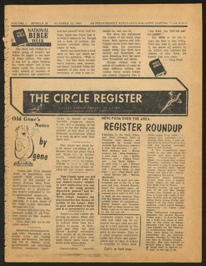 Primary view of object titled 'The Circle Register (Follett, Tex.), Vol. 2, No. 28, Ed. 1 Tuesday, October 22, 1963'.