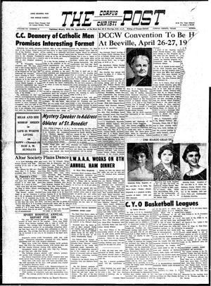 Primary view of object titled 'The Corpus Christi Post (Corpus Christi, Tex.), Vol. 7, No. 48, Ed. 1 Sunday, January 24, 1960'.