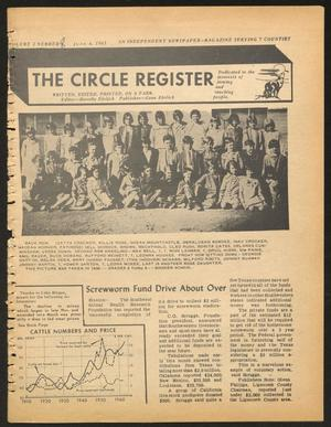 Primary view of object titled 'The Circle Register (Follett, Tex.), Vol. 2, No. 8, Ed. 1 Tuesday, June 4, 1963'.