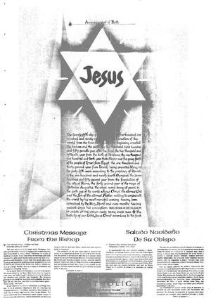 Primary view of object titled 'Texas Gulf Coast Catholic (Corpus Christi, Tex.), Vol. 9, No. 32, Ed. 1 Friday, December 20, 1974'.