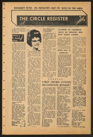 The Circle Register (Follett, Tex.), Vol. 2, No. 35, Ed. 1 Tuesday, December 10, 1963