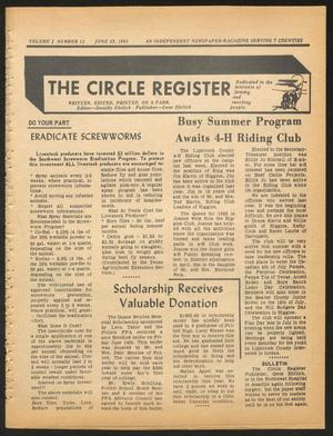 Primary view of object titled 'The Circle Register (Follett, Tex.), Vol. 2, No. 11, Ed. 1 Tuesday, June 25, 1963'.