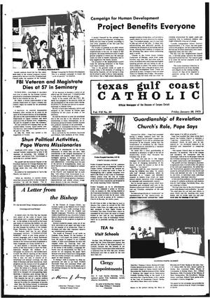Primary view of object titled 'Texas Gulf Coast Catholic (Corpus Christi, Tex.), Vol. 2, No. 39, Ed. 1 Friday, January 28, 1972'.