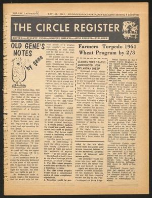 The Circle Register (Follett, Tex.), Vol. 2, No. 7, Ed. 1 Tuesday, May 28, 1963
