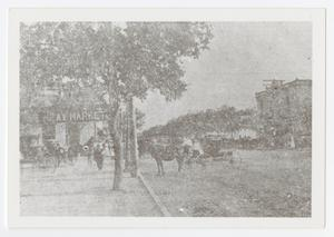 Primary view of object titled '[Photograph of Street in Boerne, Texas]'.