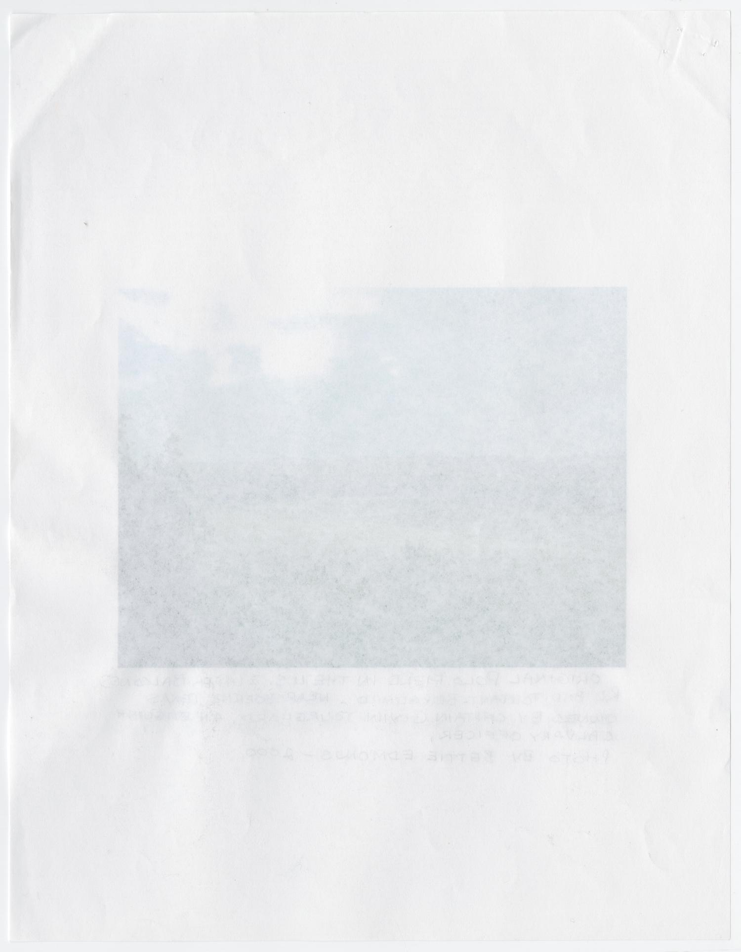 [Photocopy of Original Polo Playing Field Photograph]                                                                                                      [Sequence #]: 2 of 2