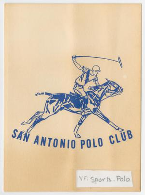 Primary view of object titled '[Invitation: San Antonio Polo Club Game and Honor Ceremony, October 27,1963]'.