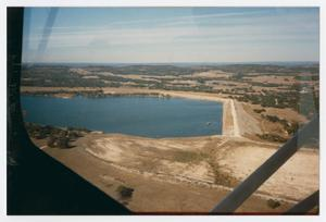 Primary view of object titled '[Photograph of View of Boerne Lake]'.