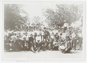 Primary view of object titled '[Photograph of Boerne Band at Phillip Reunion]'.