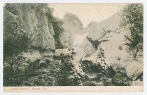 Primary view of object titled '[Postcard of Cibolo Canyon, Boerne, Texas]'.