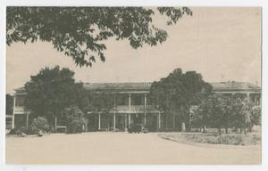 Primary view of object titled '[Postcard of the Kendall Inn, Boerne, Texas]'.