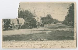 Primary view of object titled '[Postcard from Helen J. Theis to Mr. Albert Zaeller, January 12, 1906]'.