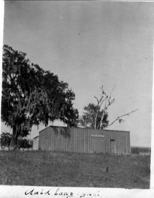 Primary view of object titled '[Photograph of second Camp George]'.