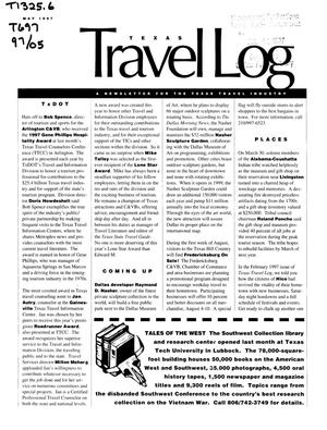Primary view of object titled 'Texas Travelog, May 1997'.